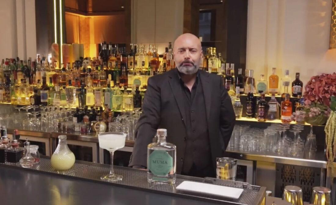 Massimo D'Addezio barman (Bar Manager & Consultant del Chorus Café di Roma
